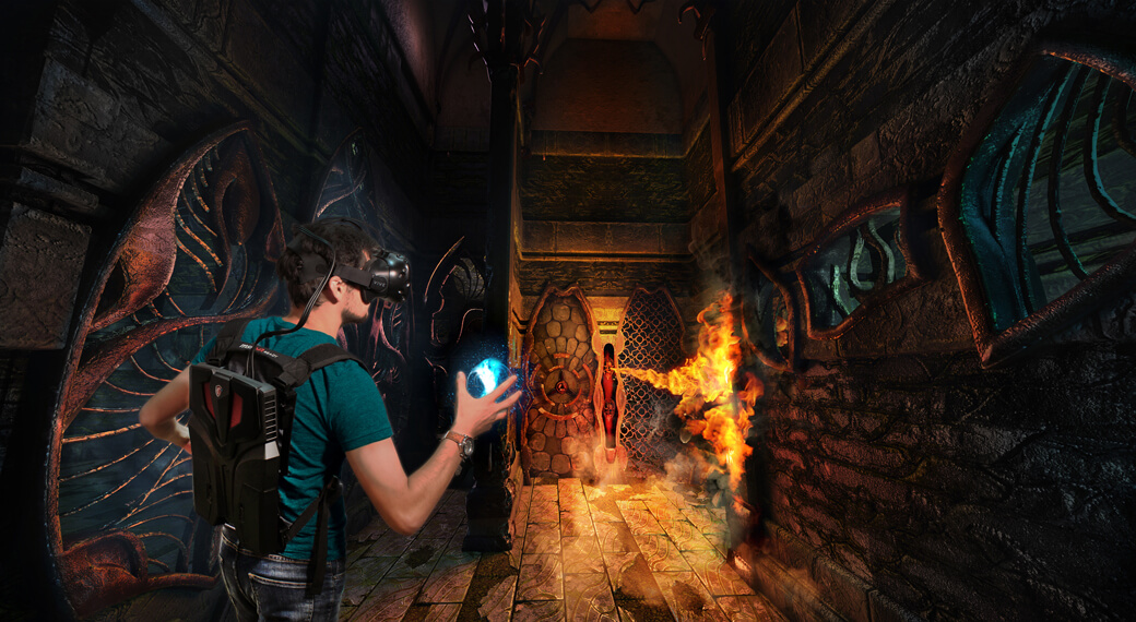 VR Quest Arena | Location Based Virtual Realty Experiences